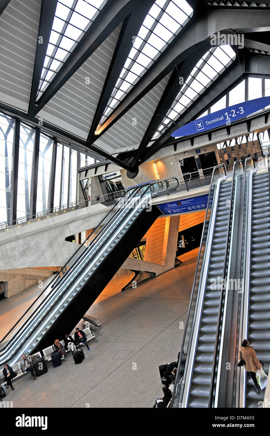 lyon-saint exupéry airport railway station