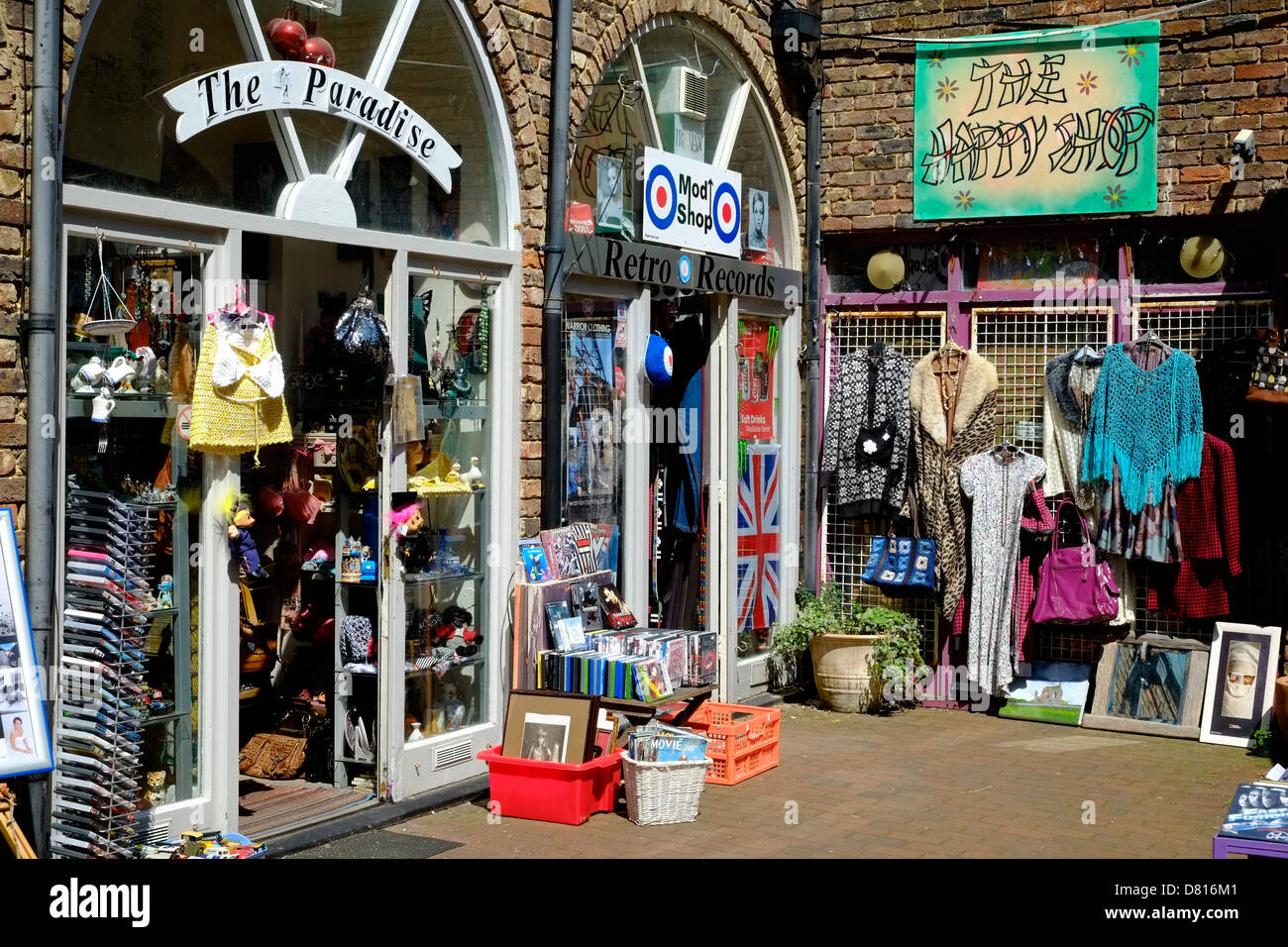 Retro Shop In Hastings Town Westhill Arcade George