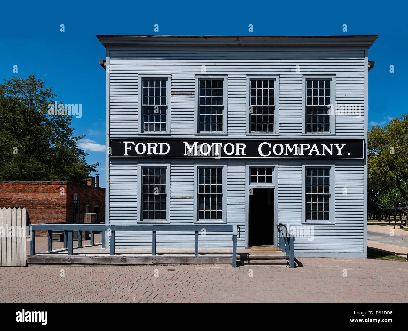 the original ford motor company headquarters relocated to. Black Bedroom Furniture Sets. Home Design Ideas