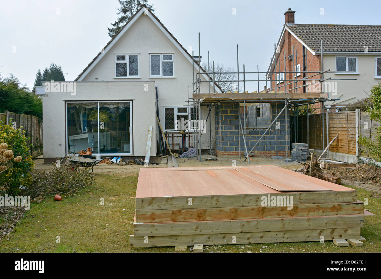 Timber Frame Prefabricated Panels For First Floor