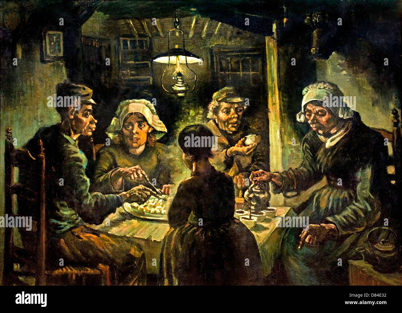 The Potato Eaters. 1885. Realism Vincent van Gogh 1853 ...