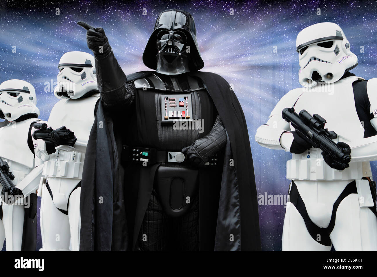 Star Wars Darth Vader And Imperial Stormtrooper Characters