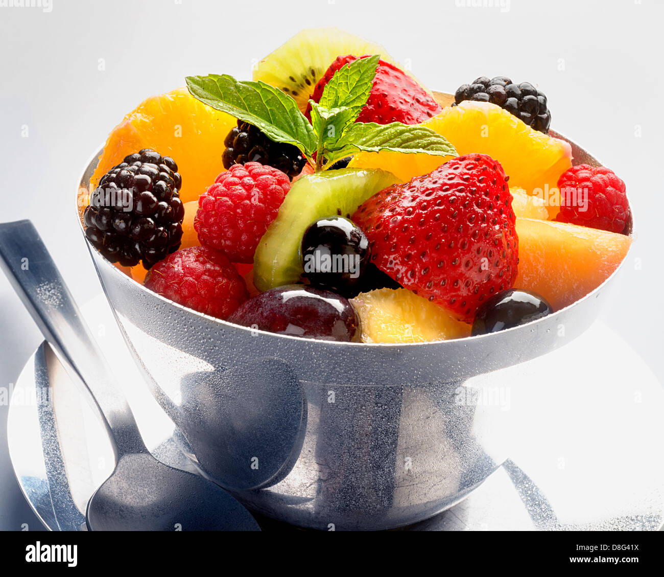 fruit in dish Stock Foto