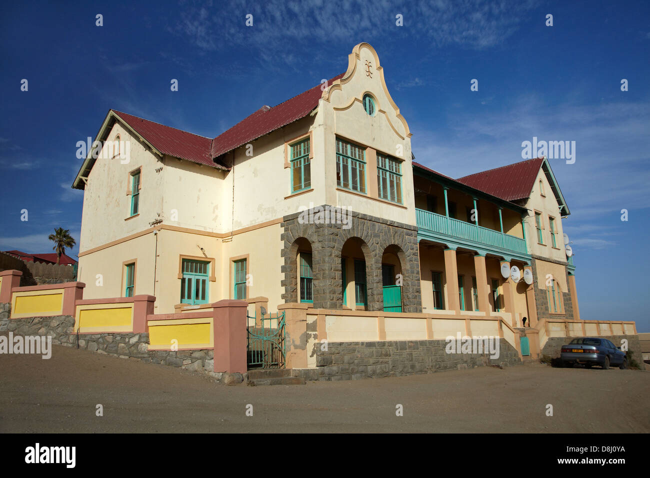 German colonial architecture luderitz namibia africa for German colonial house