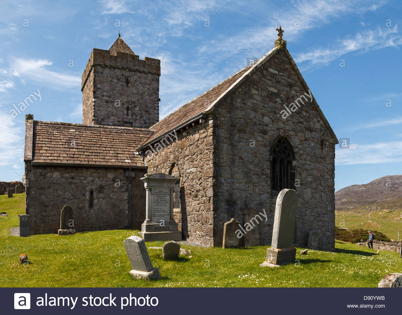 St Clements Church at Rodel, Isle of Harris, Outer ...