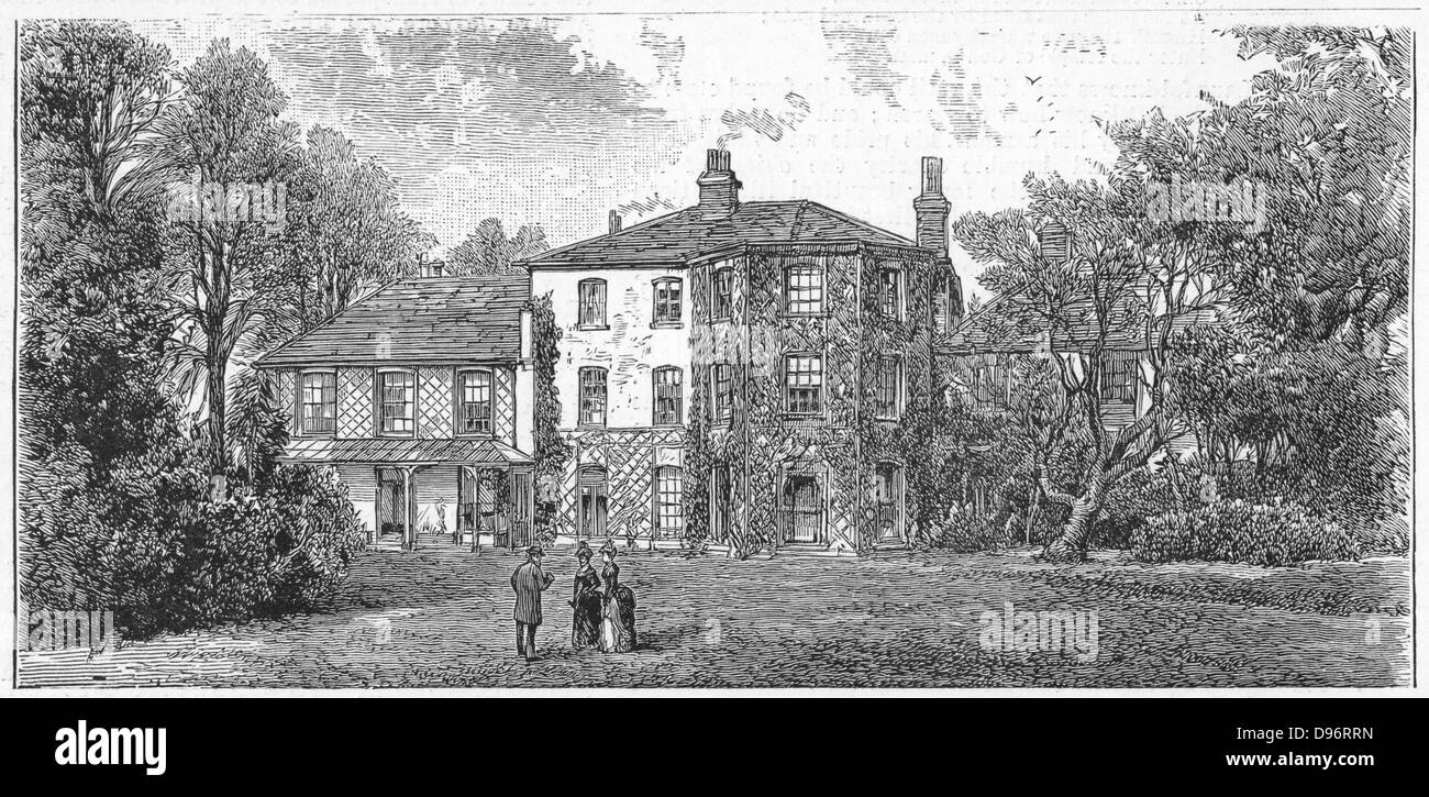 Charles Darwin 1809 1882 Down House Near Beckenham