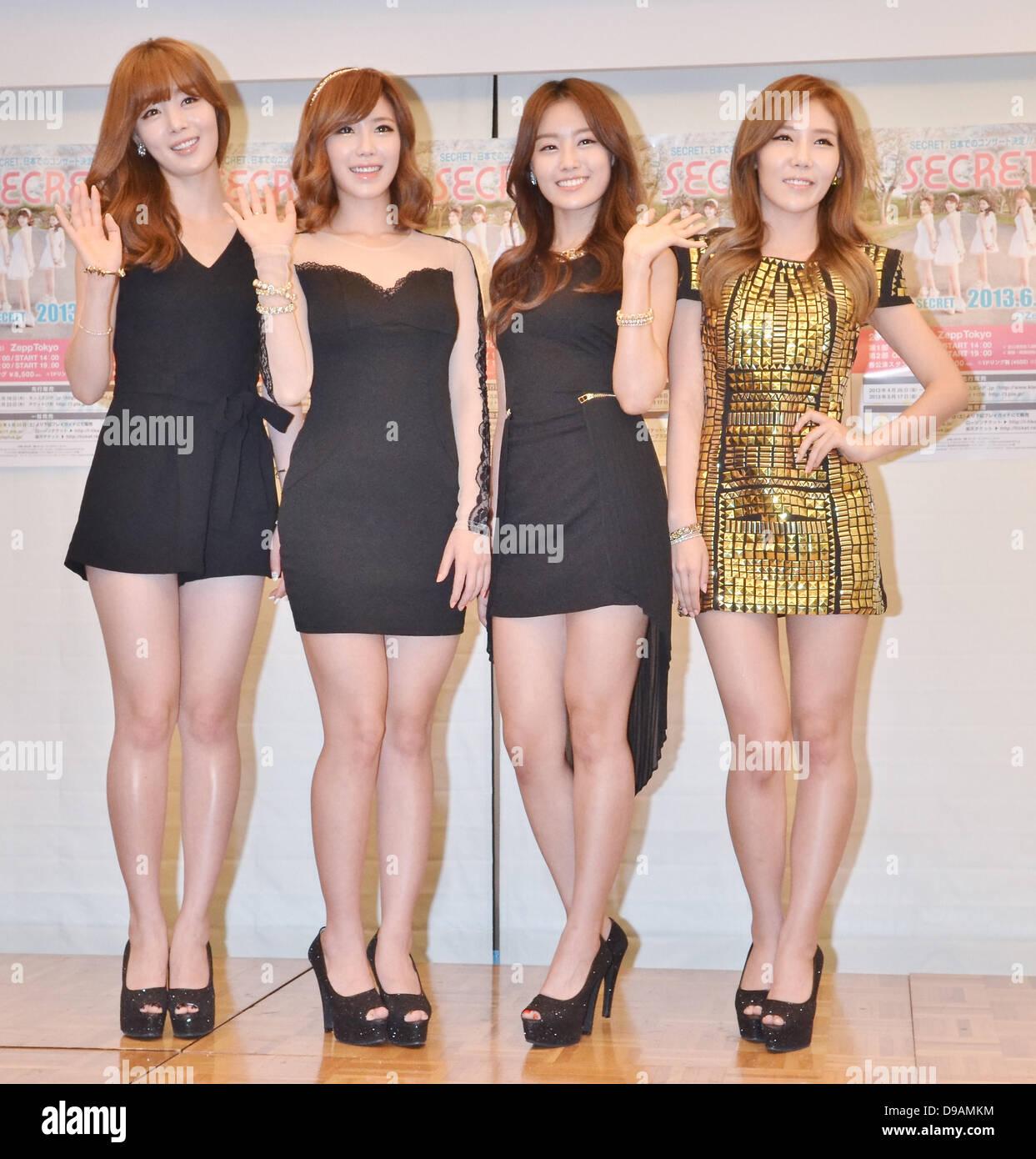 Secret, Jun 14, 2013: Tokyo, Japan: South Korean girl band ...