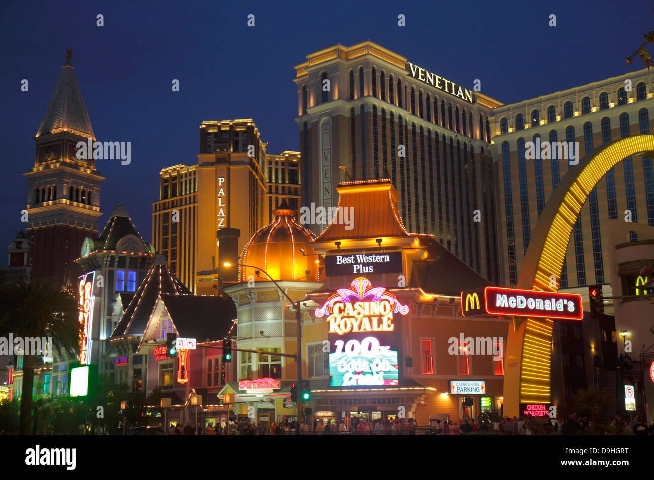 Fast Food Restaurants On Vegas Strip