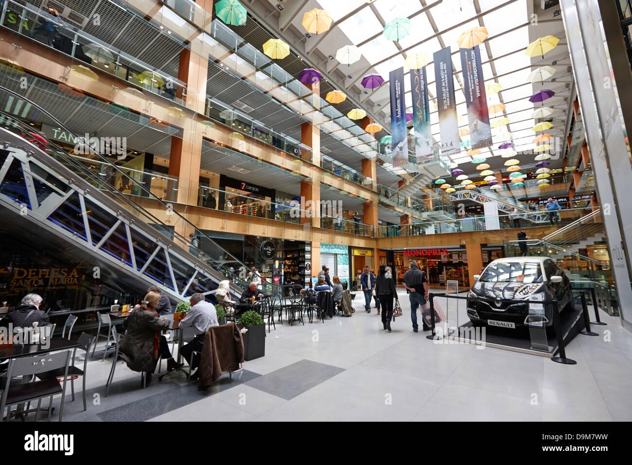 Interior of illa carlemany shopping centre in andorra la vella stock photo royalty free image - Centre comercial illa ...