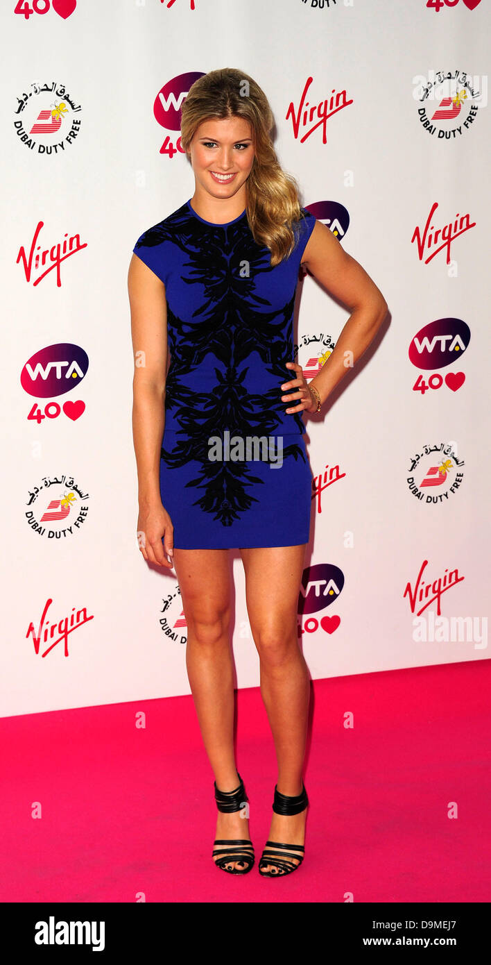 eugenie bouchard attends the wta pre