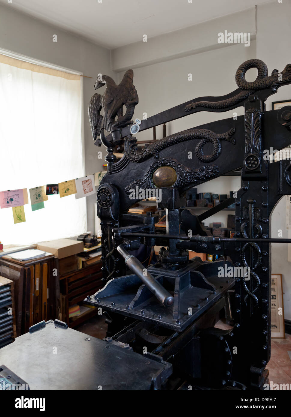D Printer Exhibition Uk : Lincoln victorian printing press exhibition at the