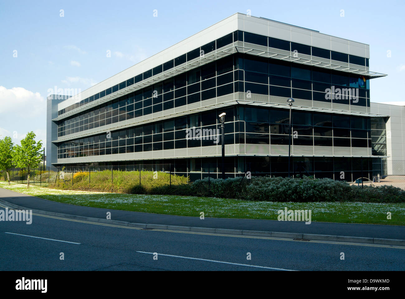 Modern office building cardiff bay south wales stock for Office design cardiff
