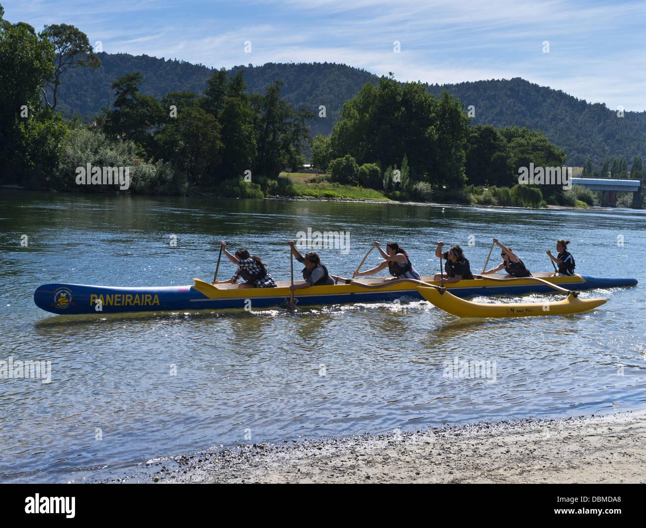 Ngaruawahia New Zealand  city images : Waikato River Ngaruawahia New Zealand Maori Girls Paddling Waka Stock ...