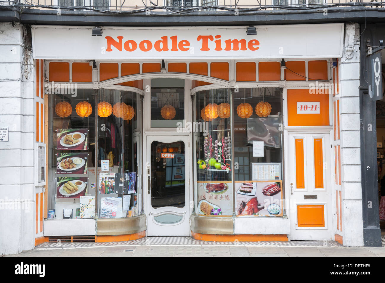 noodle time restaurant greenwich london england uk stock photo royalty free image 58932924. Black Bedroom Furniture Sets. Home Design Ideas