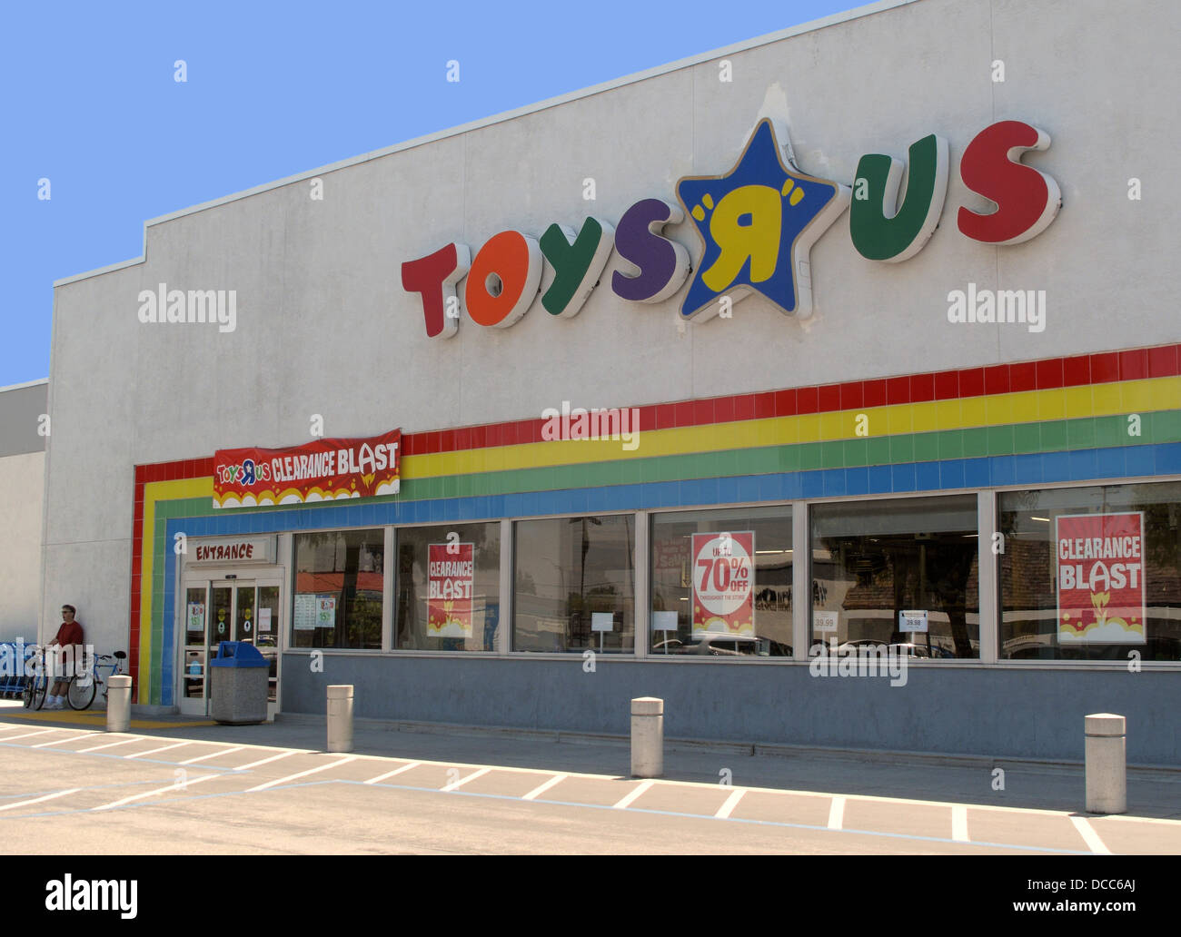 Toys R Us Store : Toys r us store in san jose california stock photo