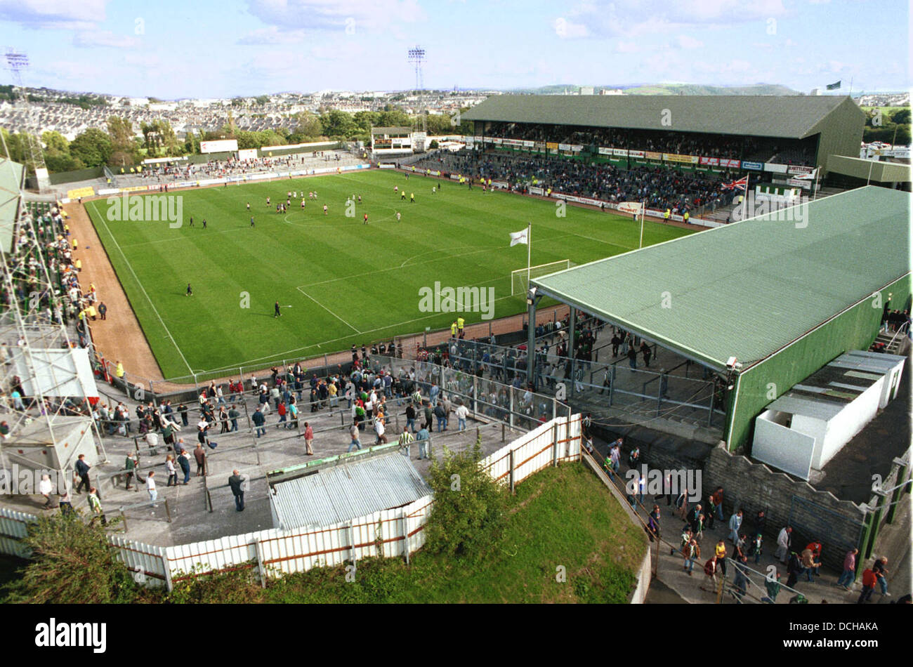 Home Park Football Ground The Home Of Plymouth Argyle FC