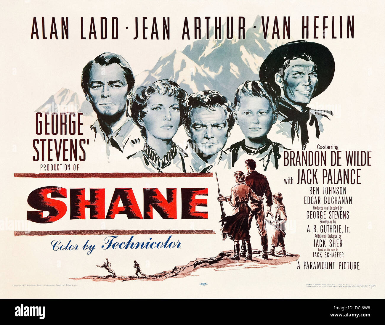 an analysis of the novel shane by jack schaefer