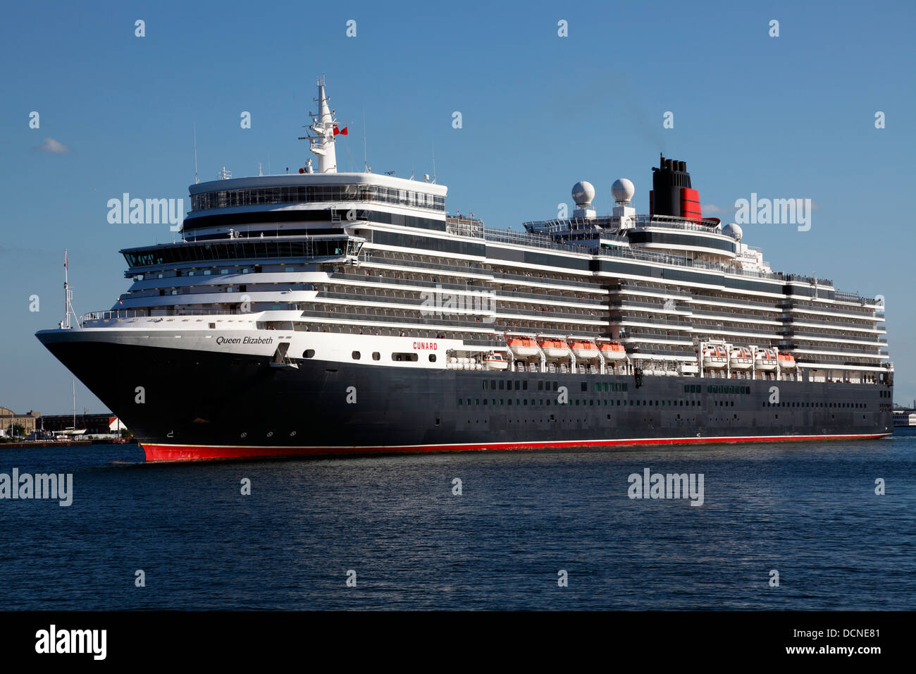 The new MS Queen Elizabeth cruise ship