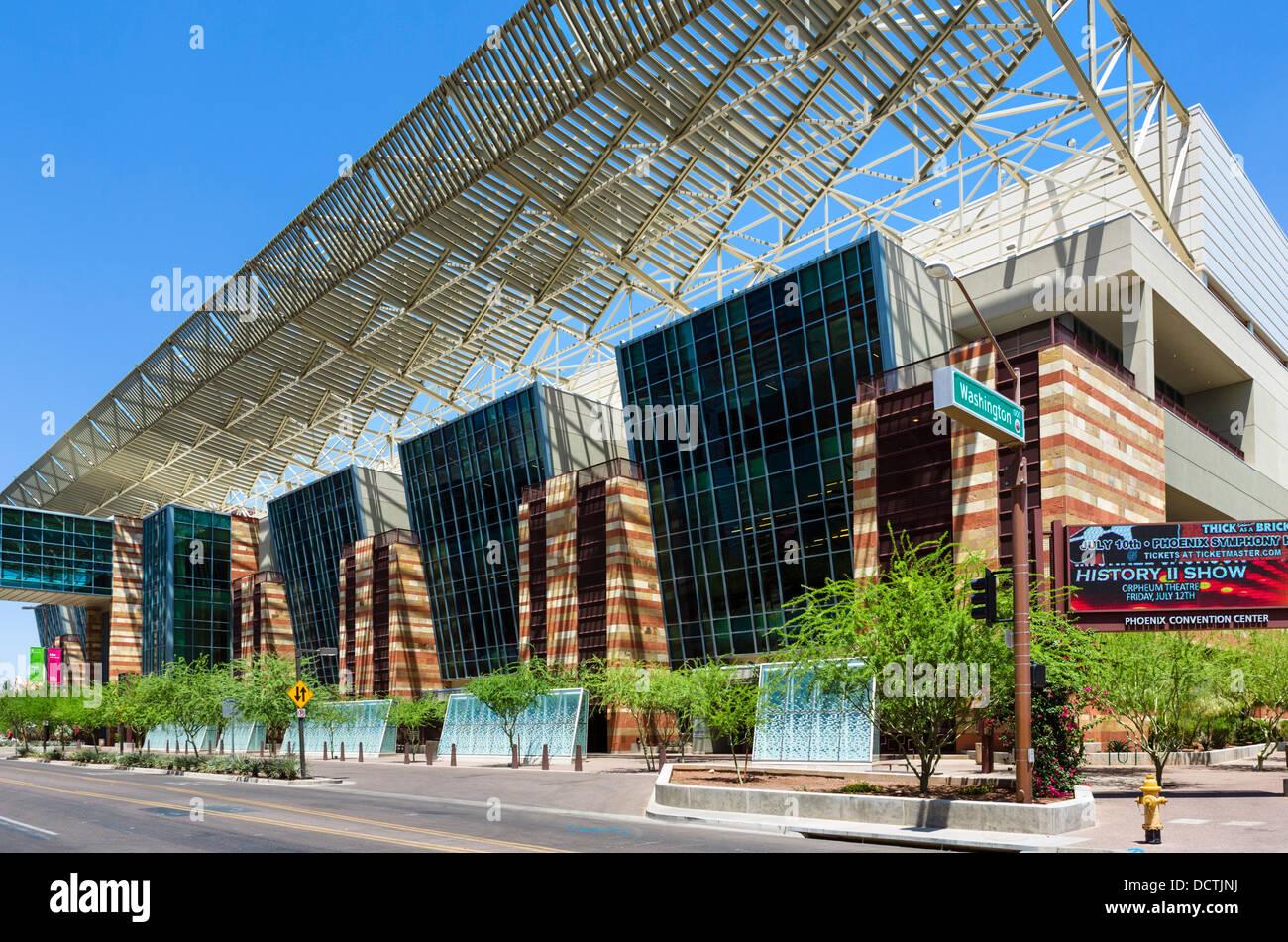 Phoenix Convention Center On N 3rd St In Downtown Phoenix Arizona Stock Photo 59548542 Alamy
