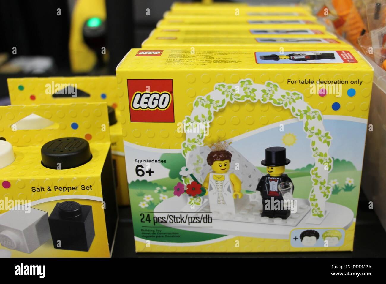 Lego Figures Wedding Cake