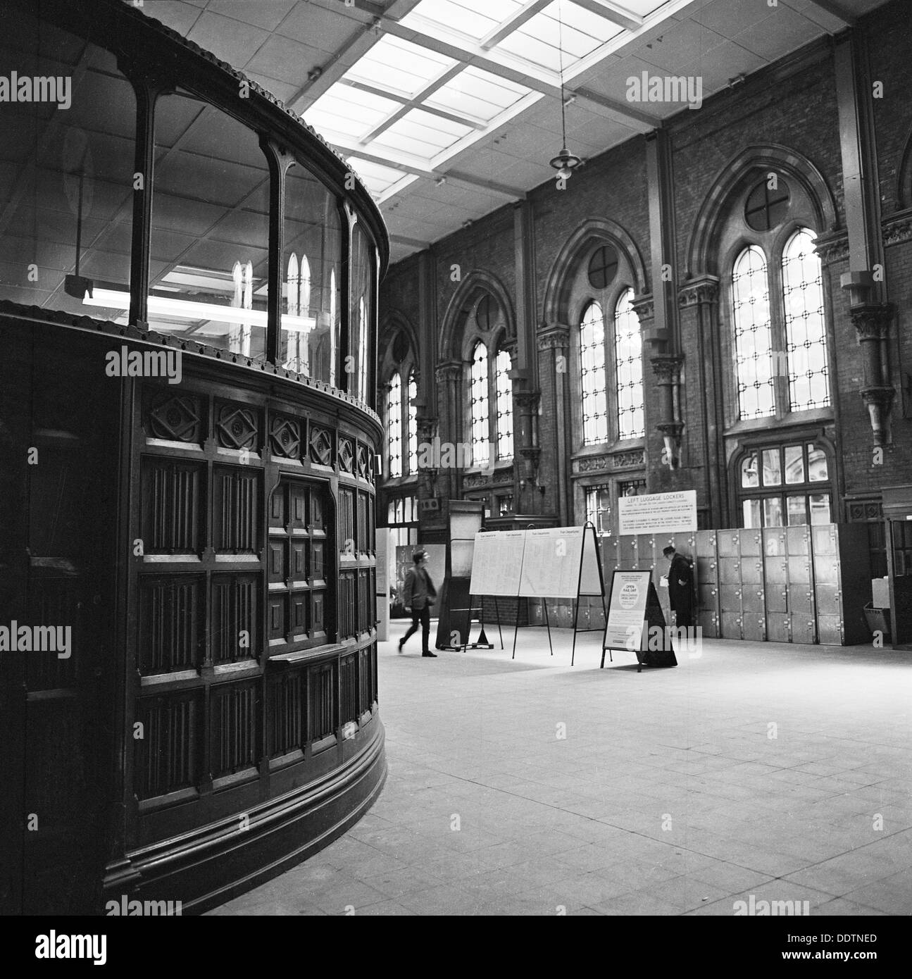 The Booking Hall St Pancras Station London 1960 1972