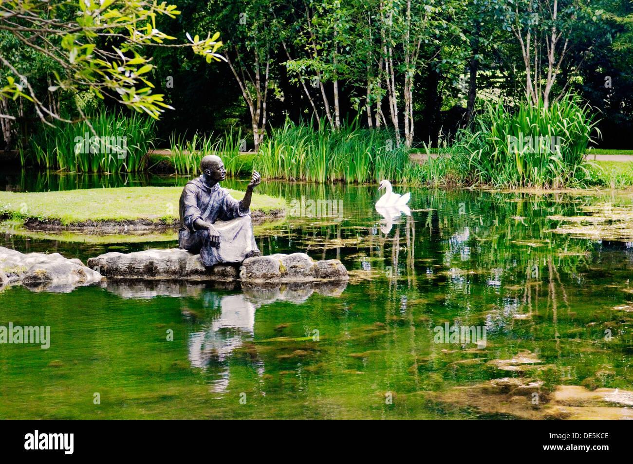 St fiachra s garden beside the japanese gardens in the for Garden design kildare