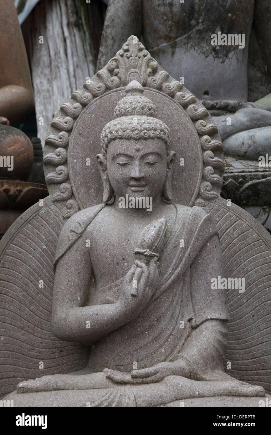Religious stone carving sculpture statue bali asia