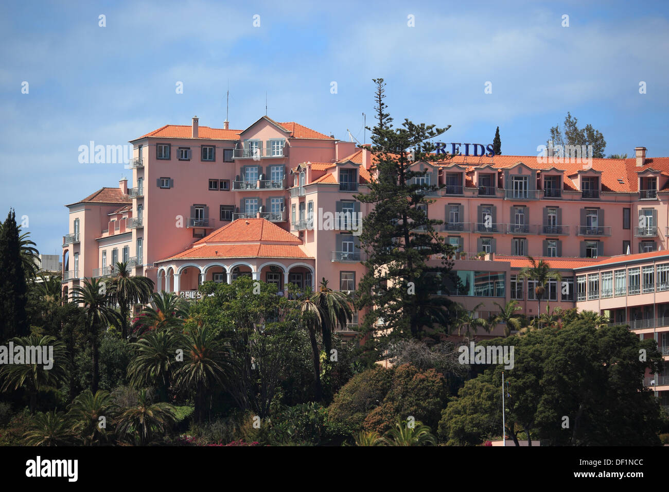 madeira funchal hotel reid 39 s palace hotel reid stock photo royalty free image 60889708 alamy. Black Bedroom Furniture Sets. Home Design Ideas