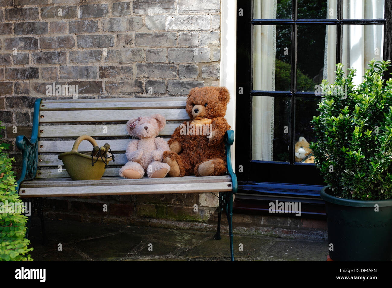 teddy-bears-taking-a-rest-from-gardening