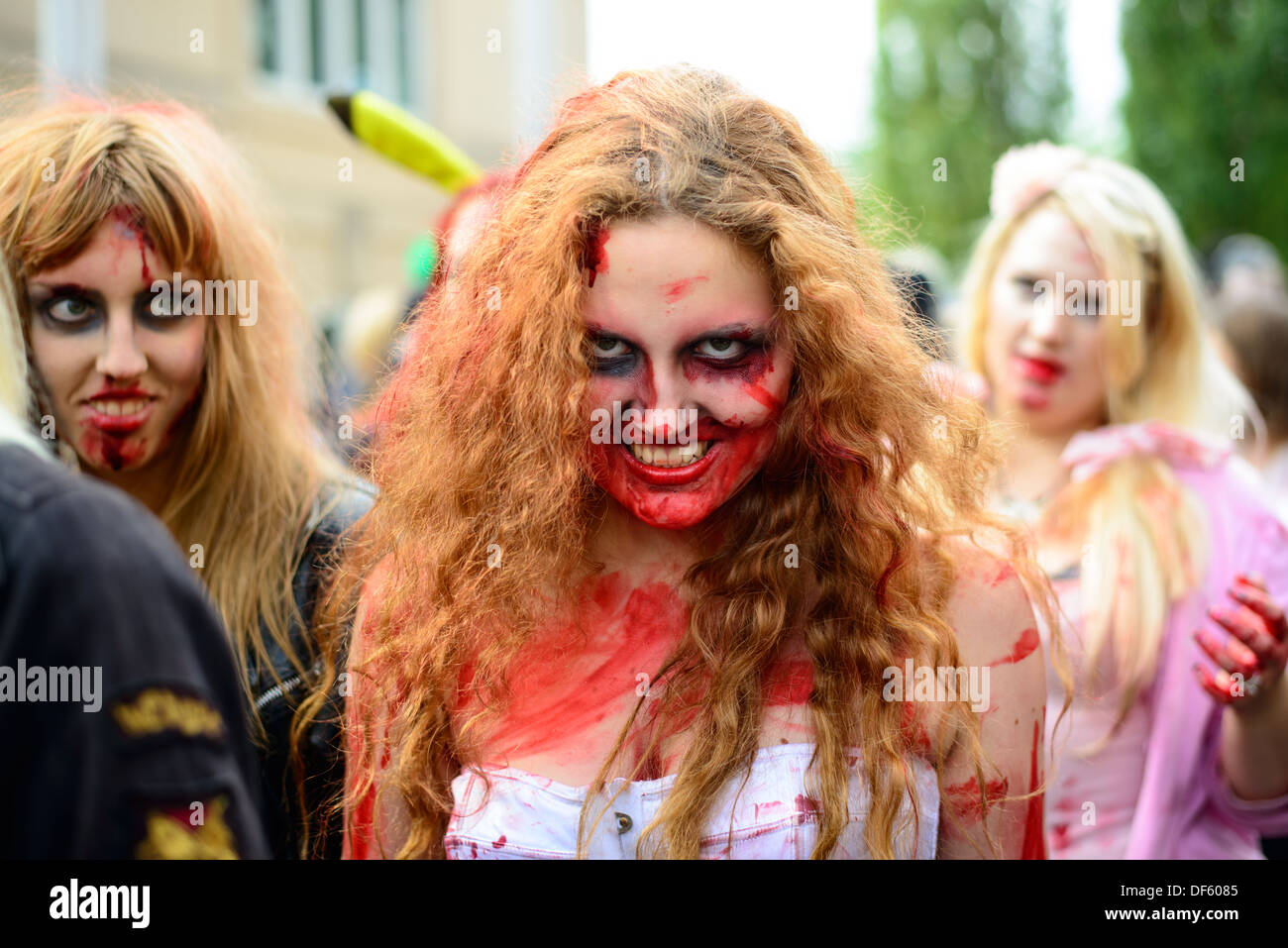 2013 Stockholm Zombie Walk Stock Photo