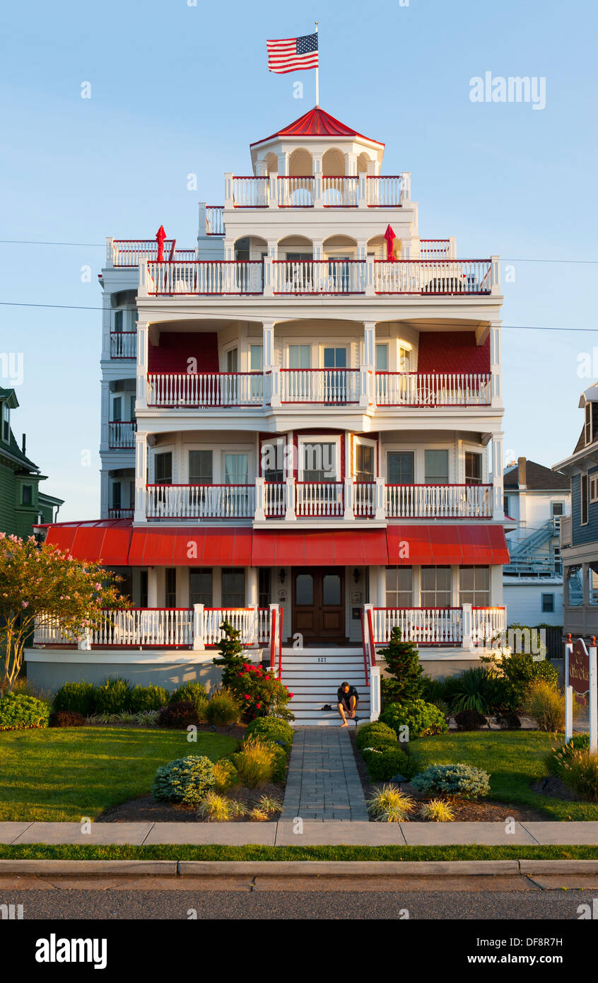 Victoria House Bed And Breakfast Beach Haven Nj : Usa cape may new jersey nj n j victorian homes along