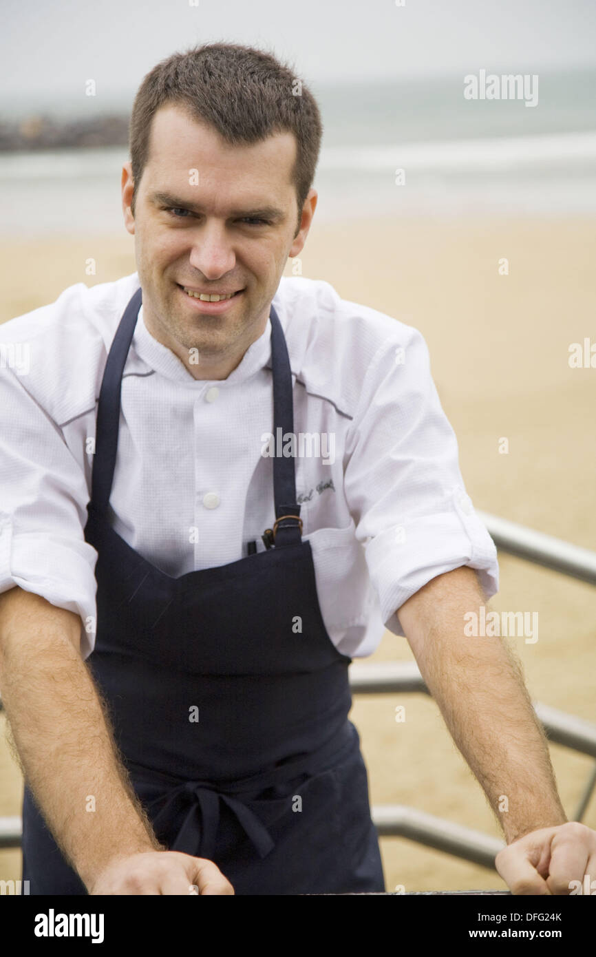 Chef Mikel Gallo, chef de cuisine at Martin Berasategui´s Kursaal ...