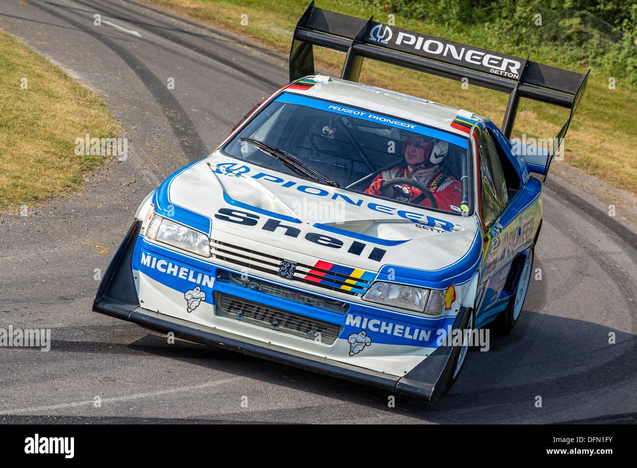 1988 Peugeot 405 T16 Gr  U0026quot Pikes Peak U0026quot  With Driver Enda
