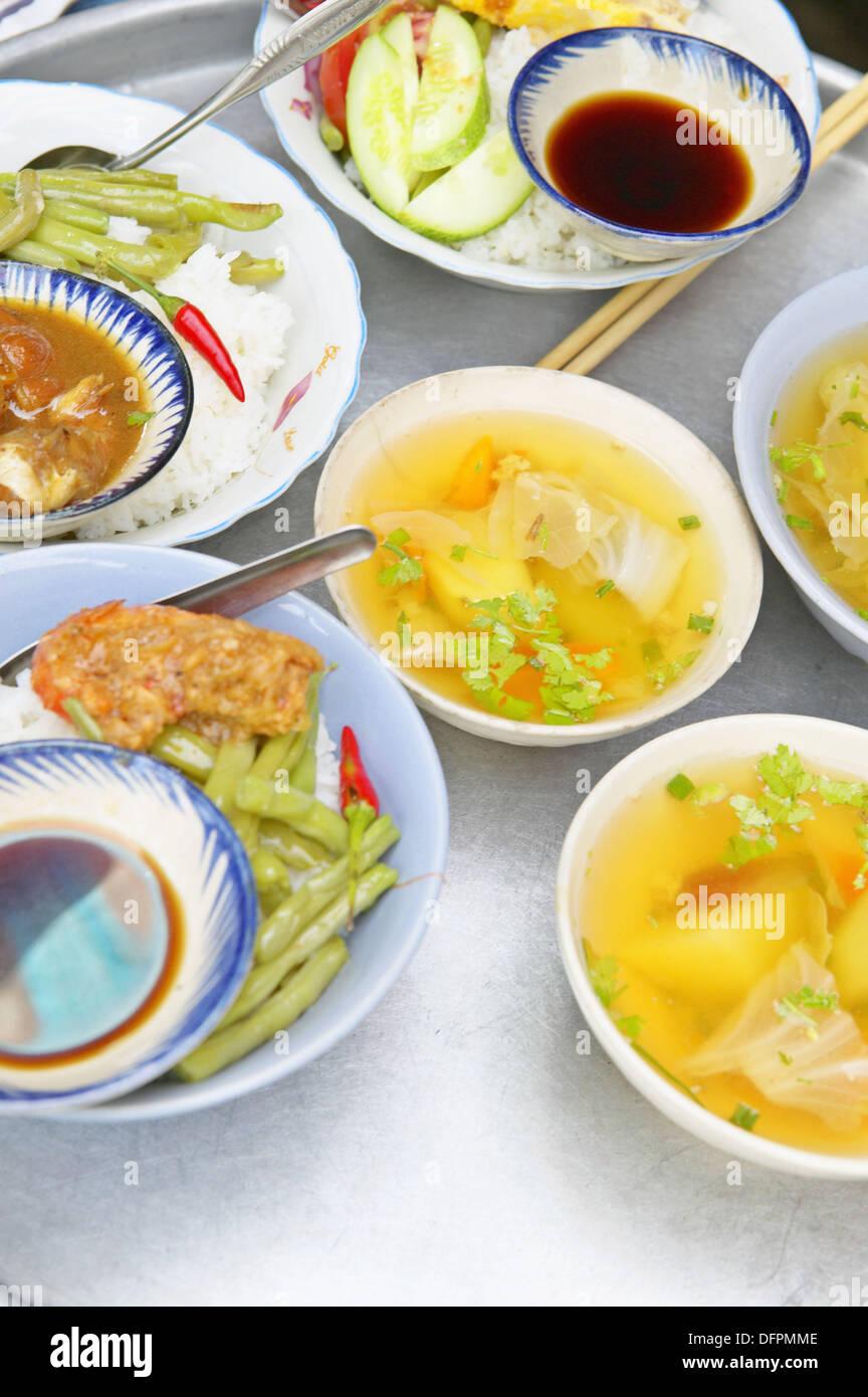 Stock Photo - Food at the market, Ho Chi Minh City. Vietnam