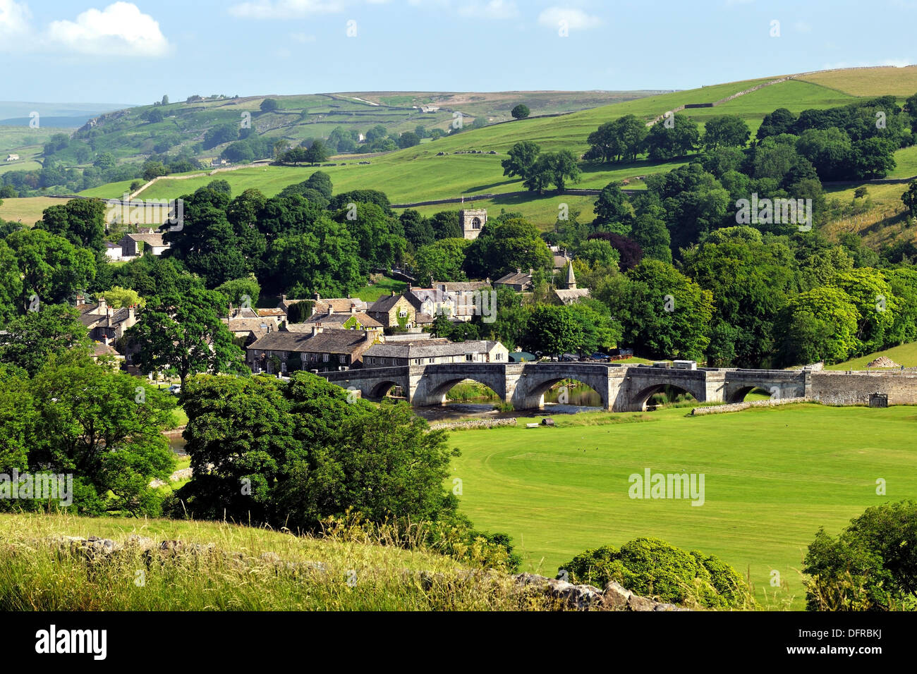 The Iconic Yorkshire Dales Village Of Burnsall Wharfedale