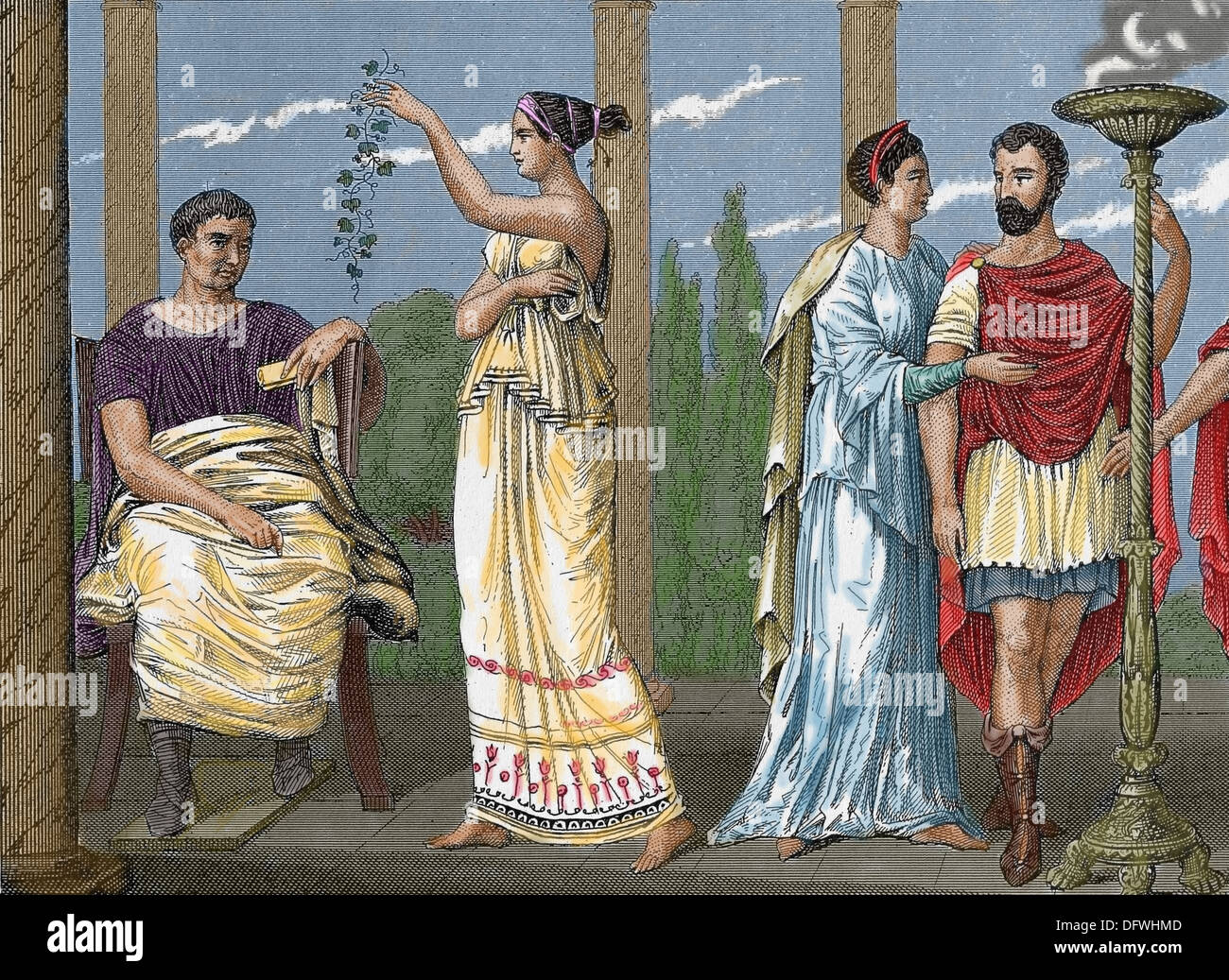 female slavery in ancient rome