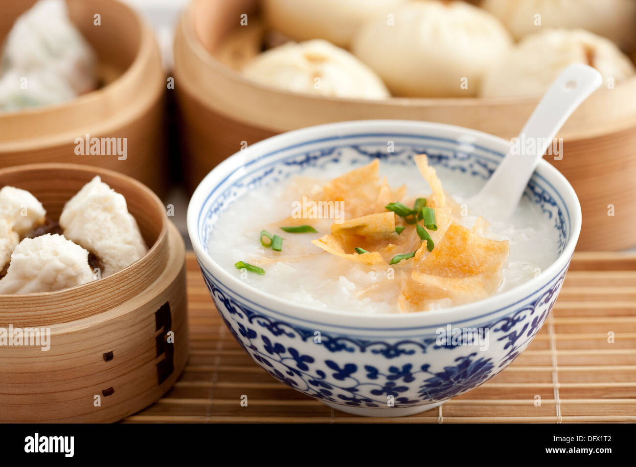 Traditional Chinese breakfast Stock Photo, Royalty Free ...