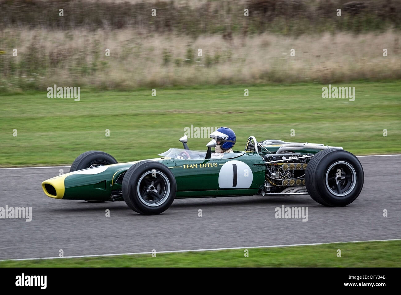 jim clarke 39 s 1966 lotus brm 43 grand prix winning cars at the tribute stock photo royalty free. Black Bedroom Furniture Sets. Home Design Ideas