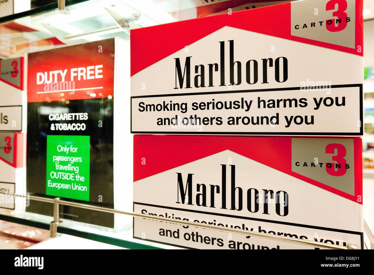 Prix Cigarette Duty Free Islande