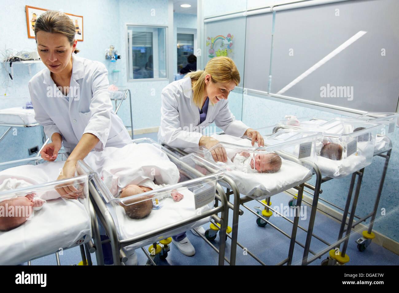 Nurses That Take Care Of Babies