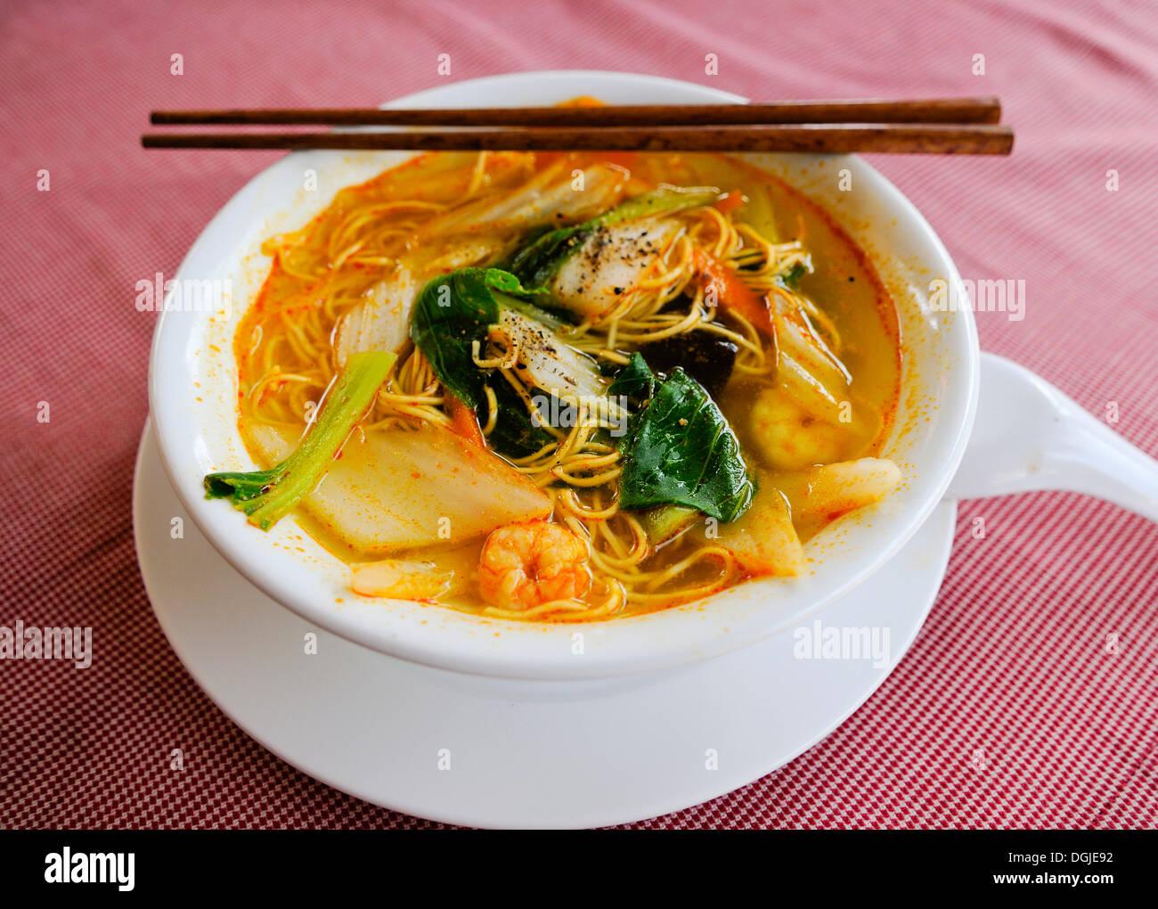 Stock Photo - The national dish Pho, Vietnam, Southeast Asia