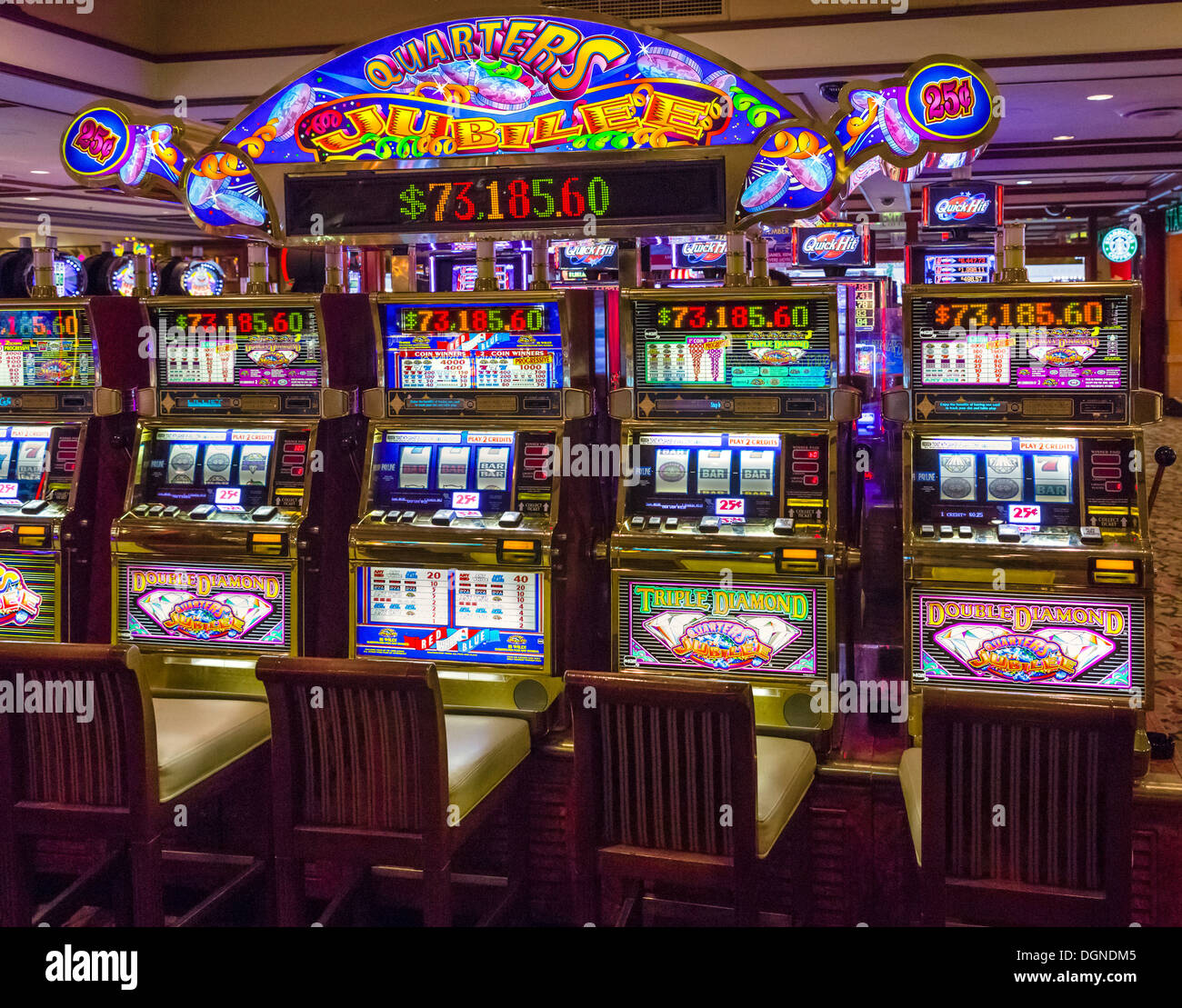 Las Vegas Slot Machines: Slot Machines In The Golden Nugget Casino, Fremont Street
