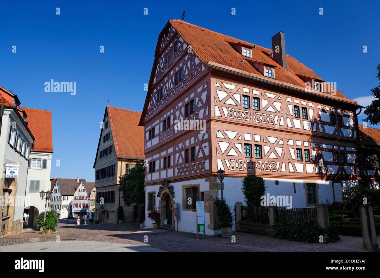 germany baden wuerttemberg bietigheim 39 hornmoldhaus 39 deutschland stock photo 62145626 alamy. Black Bedroom Furniture Sets. Home Design Ideas