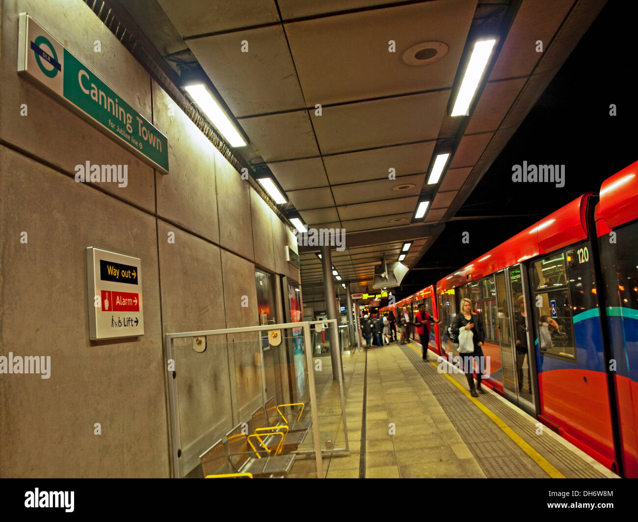 canning-town-dlr-station-at-night-london-england-united-kingdom-DH6W8M.jpg