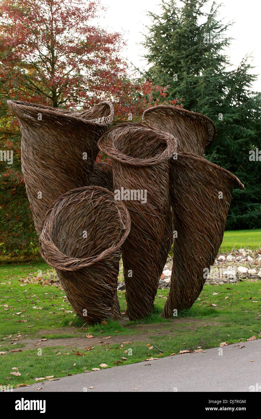 Willow Sculptures Stock Photos Willow Sculptures Stock