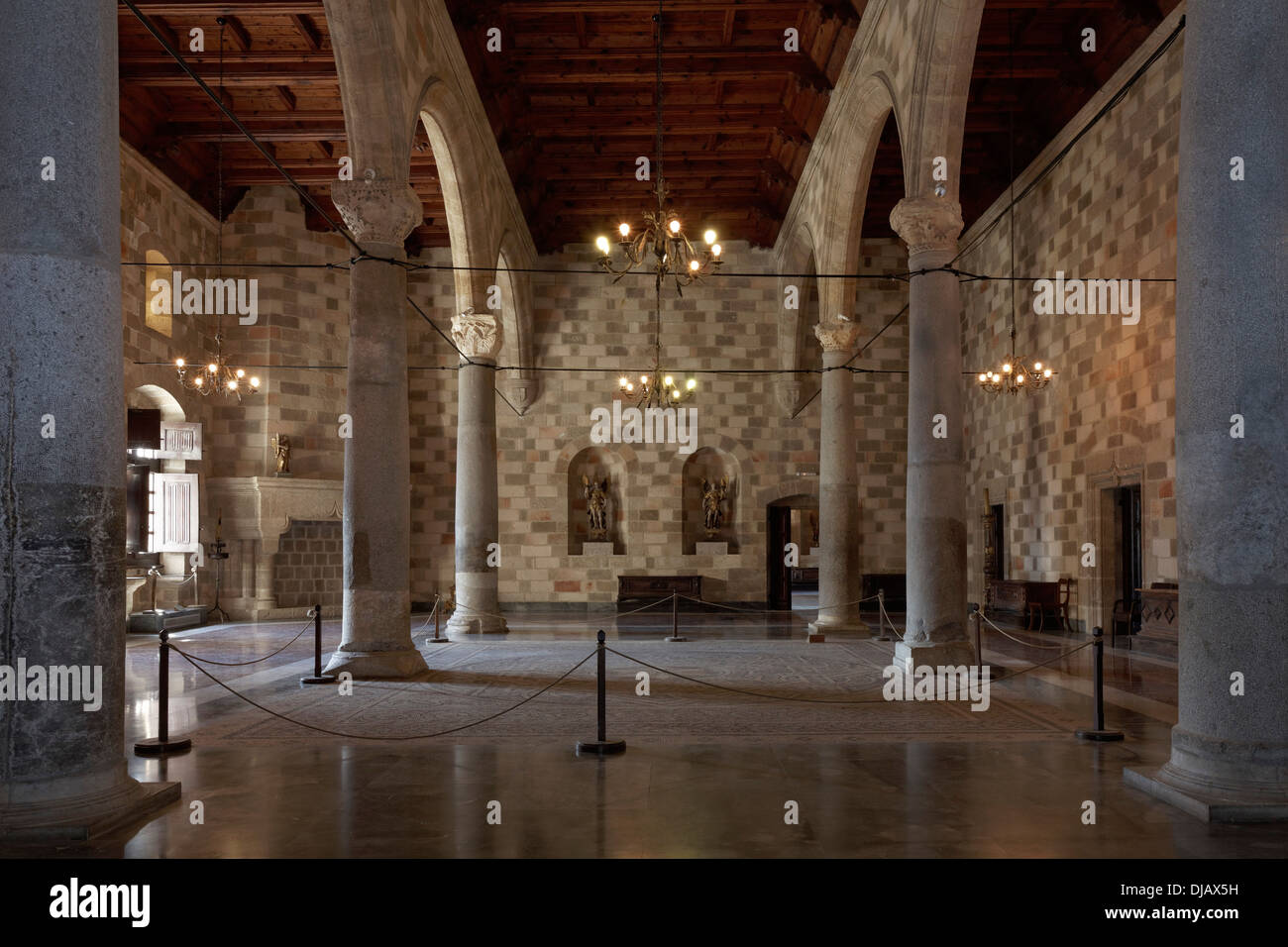 Peristyle courtyard, Palace of the Grand Master of the ...