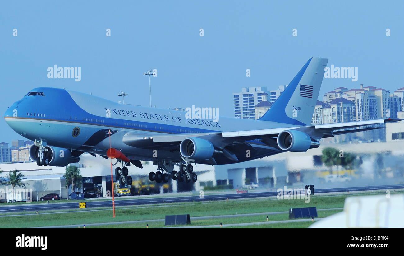 Palm Beach International Airport Air Force One