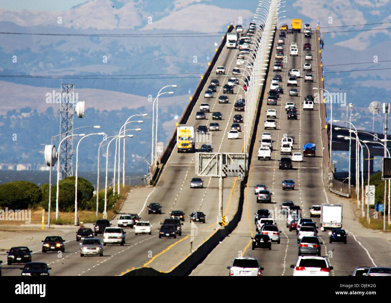 Traffic on the san mateo bridge was heavy saturday for Bay motors san mateo