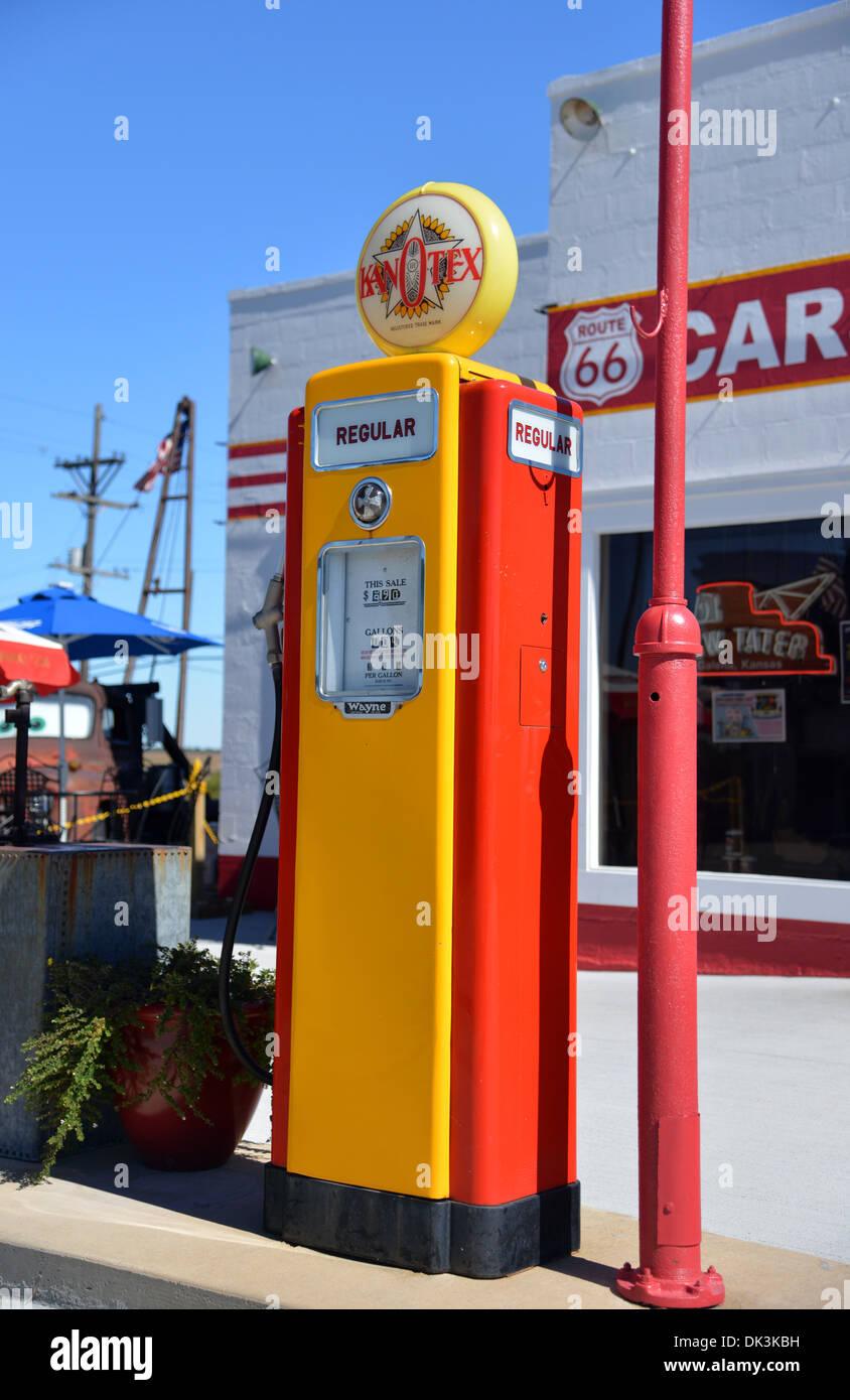Vintage Gas Station Pumps 30