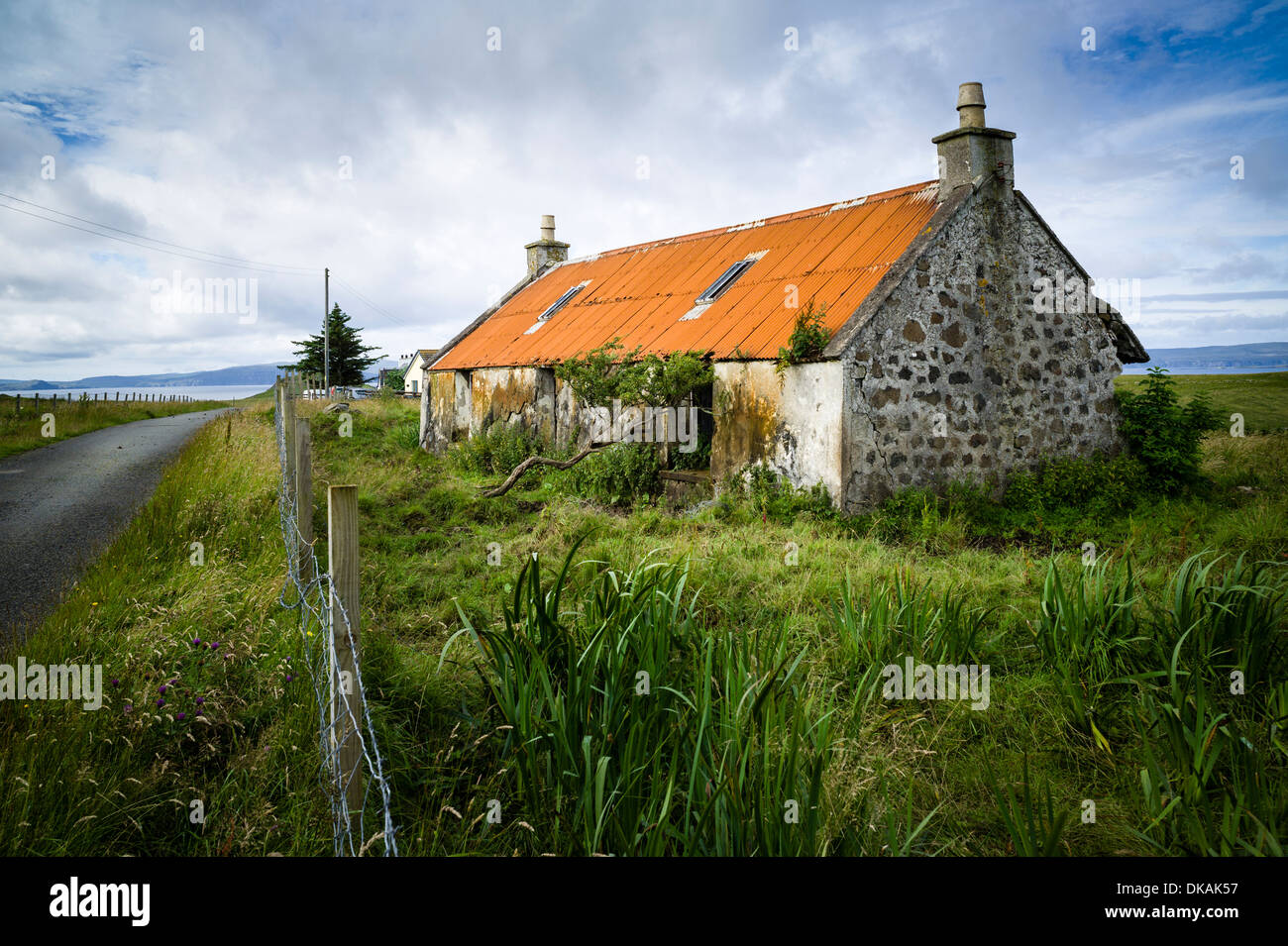 A Casualty Of Time An Abandoned Old Scottish Croft